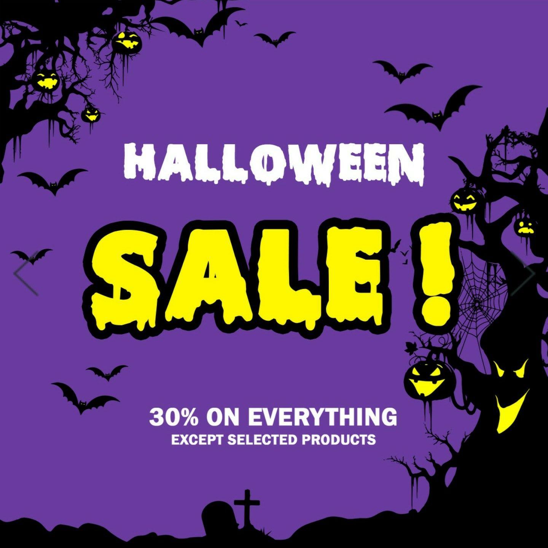 Halloween-Sale bei Overkill, 30% auf viele Produkte!