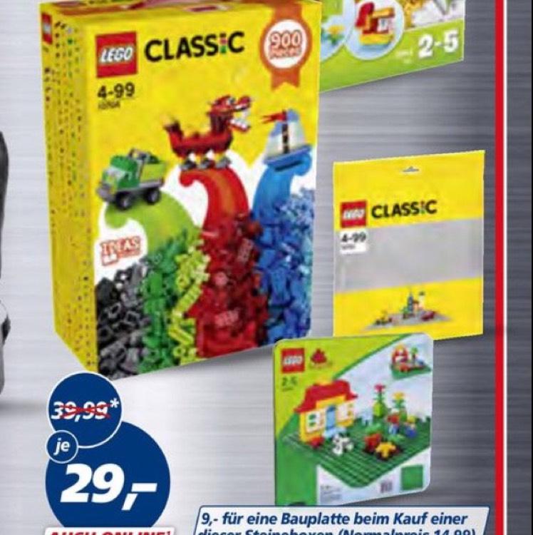 Lego oder Duplo Classic Steinebox 900/120 Teile bei Real für 16,30€ durch Family and Friends Aktion [Offline]