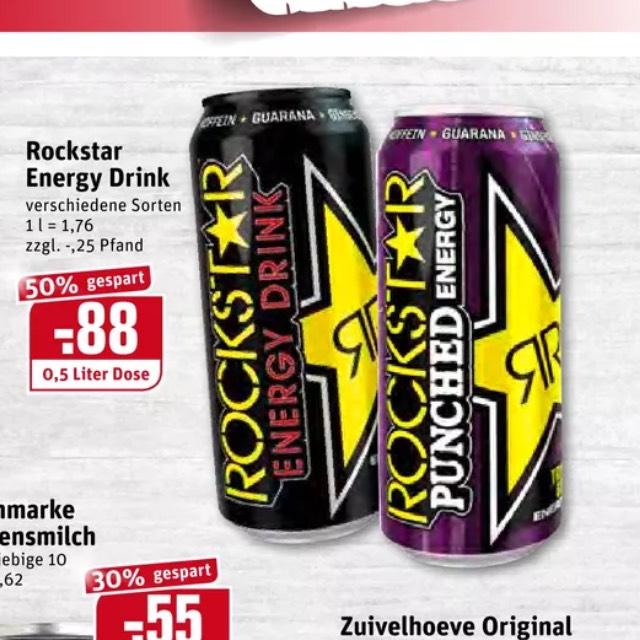 (REWE) Rockstar Energy 0,88€
