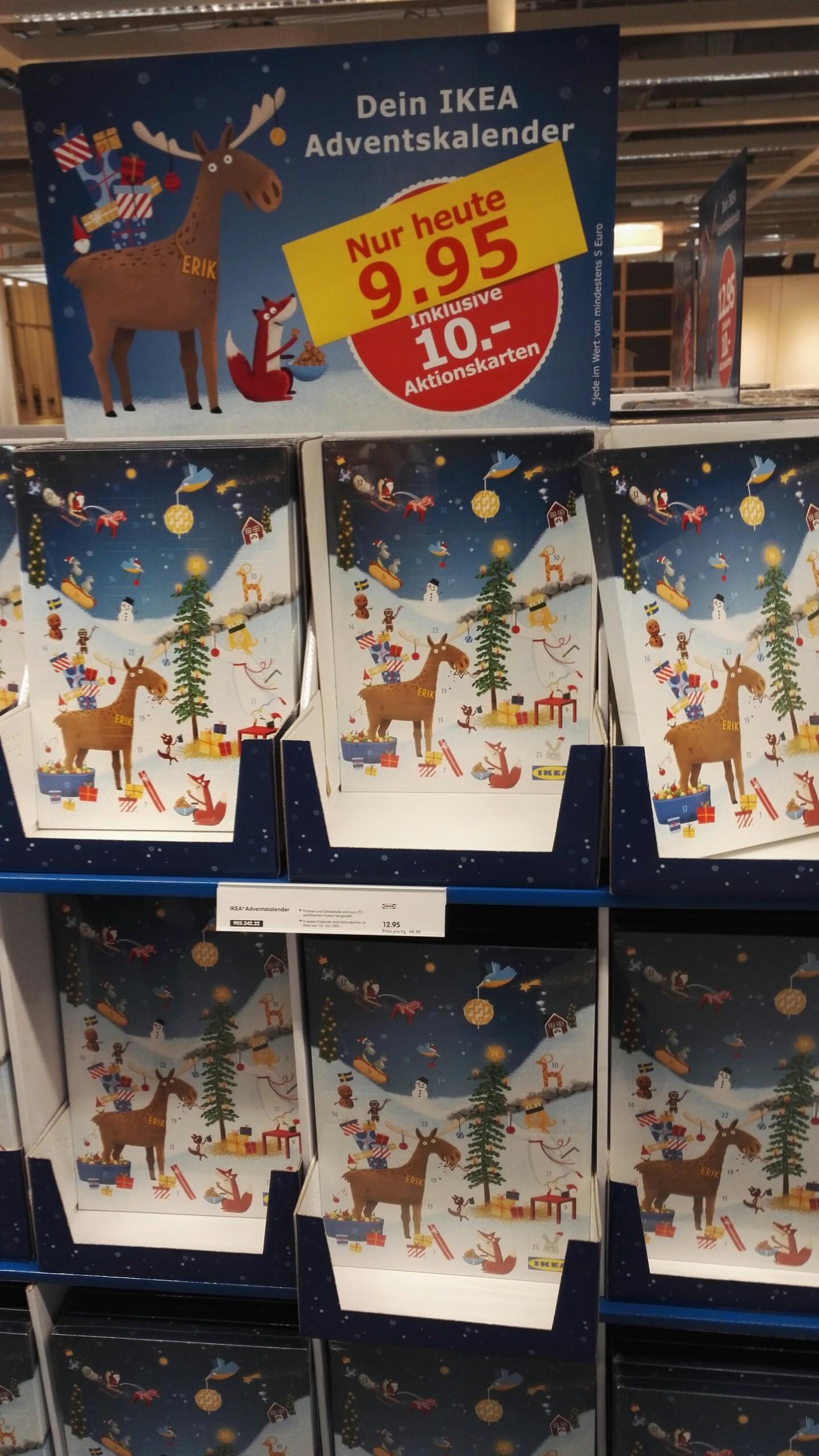 [Ikea Köln Butzweilerhof] Adventskalender für 9,95€ statt 12,95€