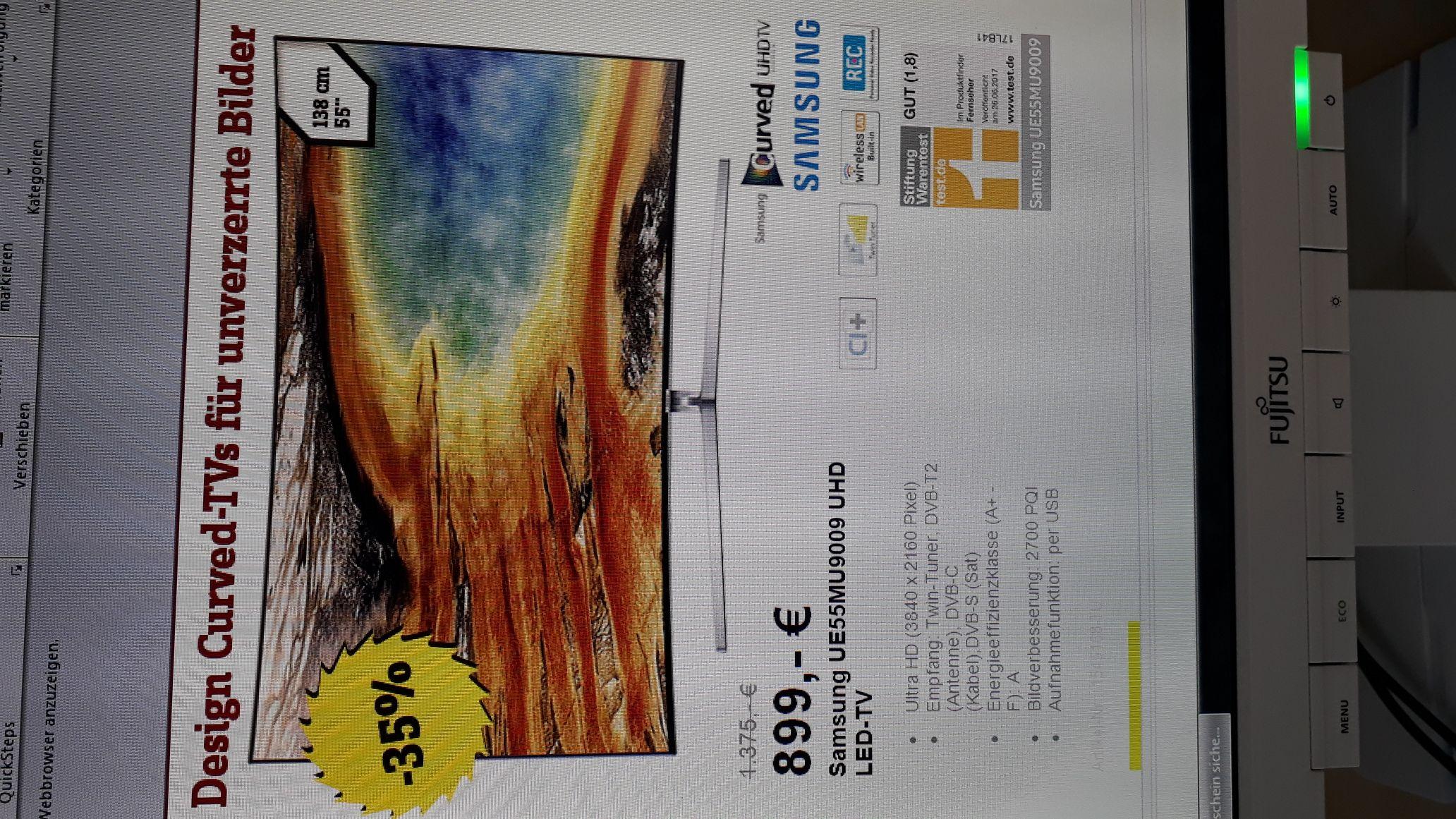 Conrad im NL Samsung 55 MU9009 UHD TV