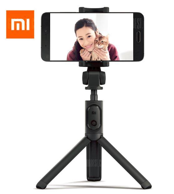 Xiaomi Selfie-Stick & Tripod mit Bluetooth-Fernbedienung statt 19€ - Gearbest