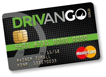 Drivango MasterCard Gold der Advanziabank mit 40€ Tankrabattguthaben