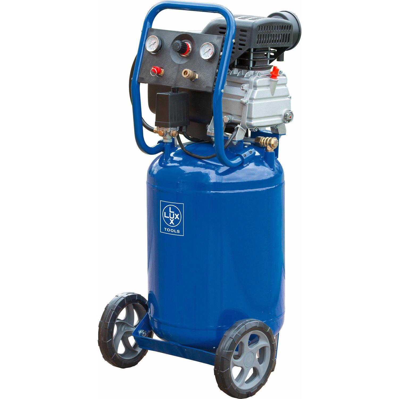 [-94,48€] LUX Tools Druckluftkompressor 50L inkl. Schlagschrauber und Druckluft-Set