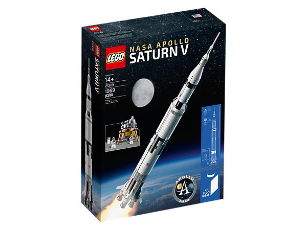 Saturn-Rakete im Lego - Shop wieder nachbestellbar !!!