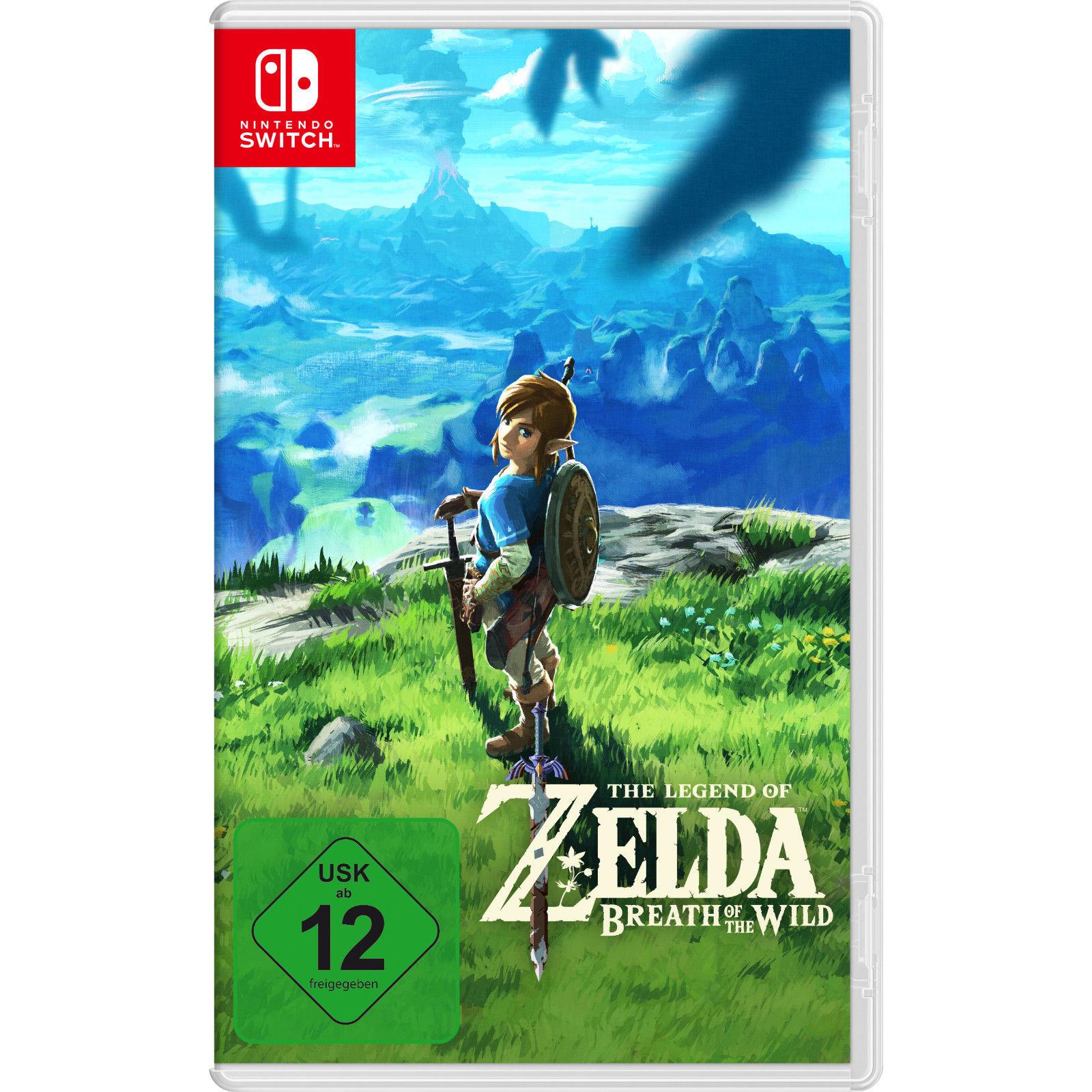The Legend of Zelda: Breath of the Wild (Switch) für 37€ (eBay)