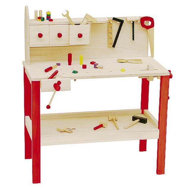roba Holz-Werkbank Kinder Spielzeug @Rossmann