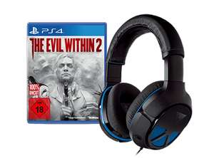 The Evil Within 2 (PS4) + Turtle Beach Recon 150 Headset für 66,66€ @ Gamestop