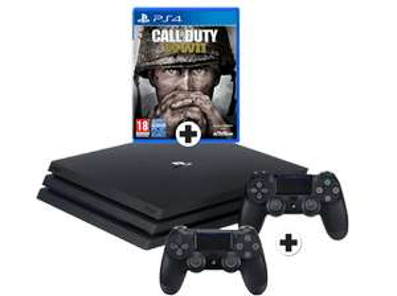 [Mediamarkt Niederlande-Grenzgänger] Sony Playstation PRO 1TB inc Call of Duty: WW2 + 2.Controller für 377,-€