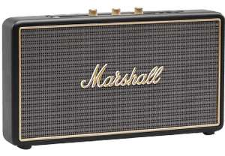 MARSHALL Stockwell Schwarz Bluetooth Lautsprecher auf Media Markt Online & Shoop
