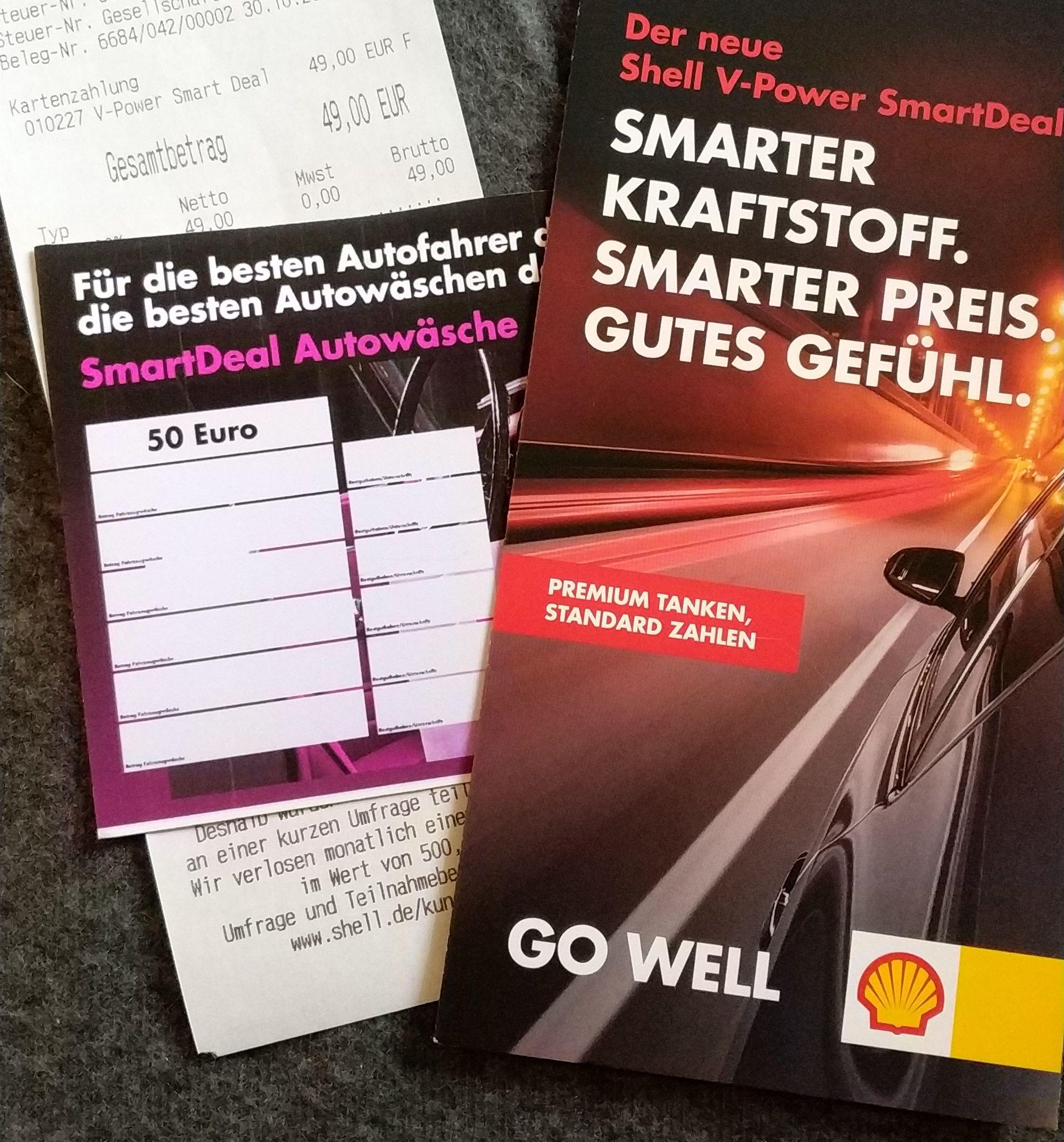 Shell SmartDeal 12 Monate + 50€ Waschgutschein  (Lokal Braunschweig/A2)