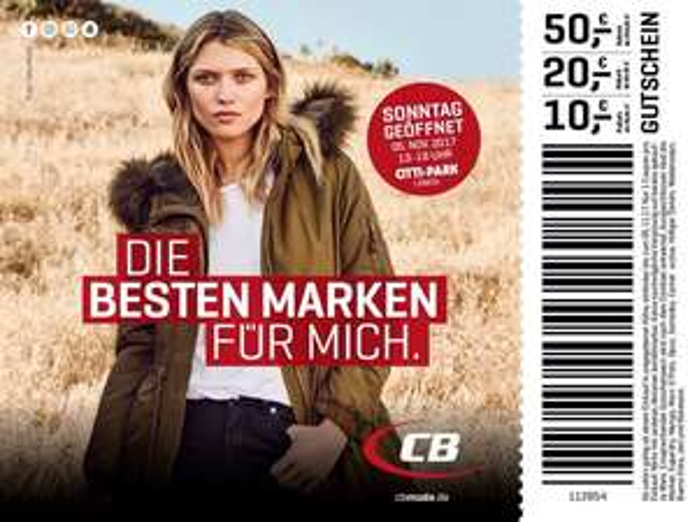 [Lokal] Bis 50€ Rabatt bei CB Mode Fashiontrends im Citti Park Lübeck