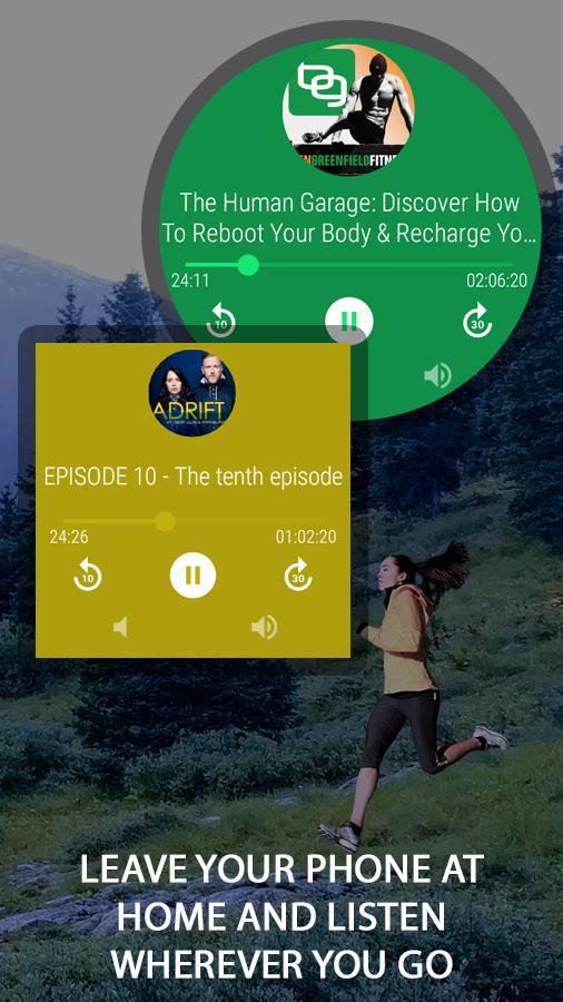 [Android] NavMusic & NavCast offline Music bzw. Podcast Player für Android Wear 0€ statt je 0,99€