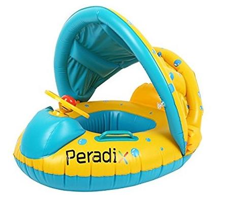 [Amazon Prime] Peradix Aufblasbares Kinderboot bis 15kg