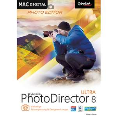 Cyberlink PhotoDirector 8 Ultra kostenlos statt 30,79 € für Mac u. Win > [pc go]