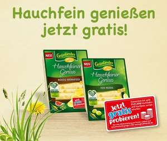 Grünländer Hauchfeiner Genuss gratis testen!