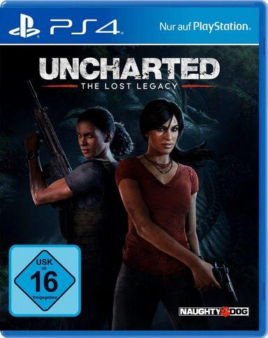Otto Bestandskunden Uncharted  - Lost Legacy f. 25,94 Euro ebenfalls gut: Wolfenstein II / Watchdogs 2 / Overwatch Goty / Grand Turismo Sport / Fifa 18