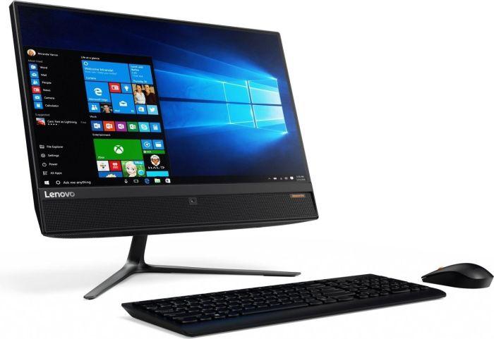 "Lenovo ideacentre AIO 510-23ISH F0CD00Q4GE  All-In-One PC, 58cm (23"") IPS Full HD-Display, Intel Core i5-7400T, 8GB RAM, 128GB SSD + 1TB HDD, GeForce 940M,  DVD+/-RW DL. Win10"