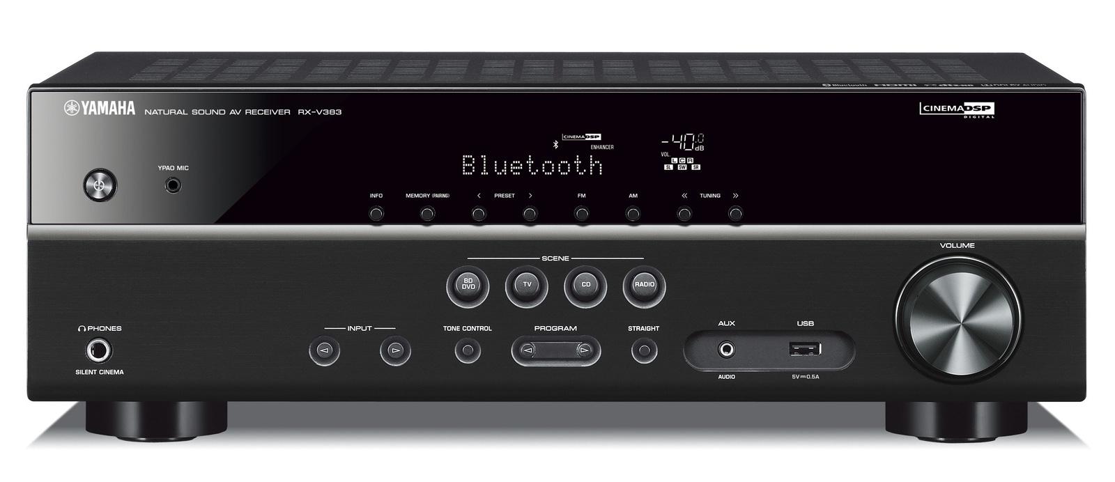 Yamaha RX-V383 5.1 AV-Receiver mit Bluetooth