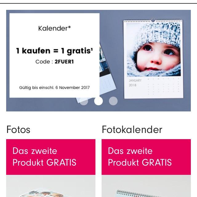 Photobox: 1 Produkt kaufen und ein 2. Produkt gratis erhalten