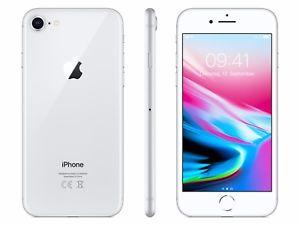 Apple iPhone 8 - 64GB diesmal in Silber