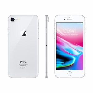 Apple iPhone 8 64 GB silber ohne Vertrag/SIMlock (ebay - Händler)