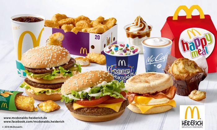 [Berlin, Mainz, Ratingen, Essen, Mühlheim, Wülfrath, ab 3.11. Dortmund] McDonald's Wertgutschein über 5€, 10€, 15€ und 20€ anrechenbar auf das gesamte Sortiment