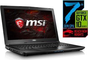 "MSI GL62 7RD-083 - 15,6"" FullHD Notebook mit Core i7-7700HQ, GeForce GTX 1050, 8GB RAM *NEUER PREIS*"