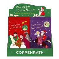 20 Weihnachts Grußkarten mit Button von Coppenrath = Stückpreis 0,45€