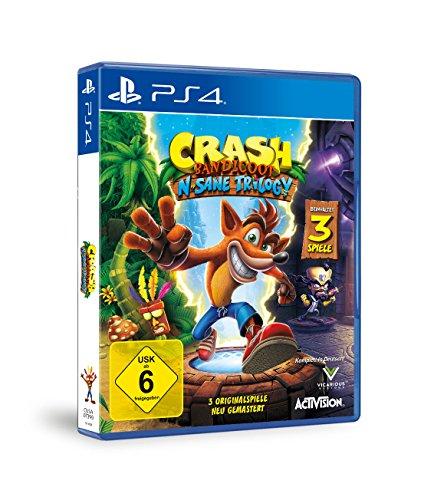 Crash Bandicoot: N. Sane Trilogy (PS4) für 24,99€, Mario & Rabbids Kingdom Battle (Nintendo Switch) für 39,99€ (Amazon)