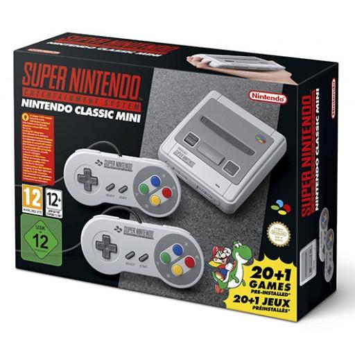 Nintendo SNES Classic Mini (libro.at)(NUR AT Versand!)