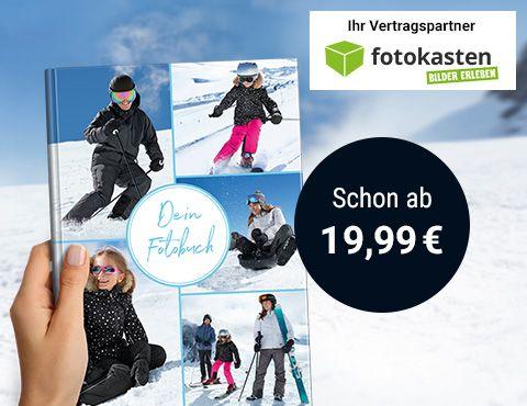 Fotobücher von Fotokasten bei Tchibo - 19,99 €
