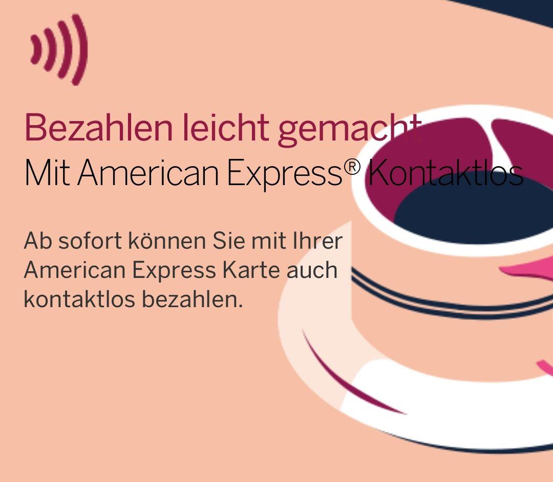 Payback American Express Karte für kontaktloses Zahlen registrieren und 3x 2€ Gutschrift erhalten