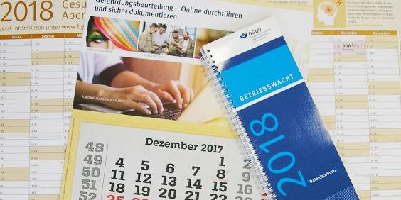 gratis Kalender 2018
