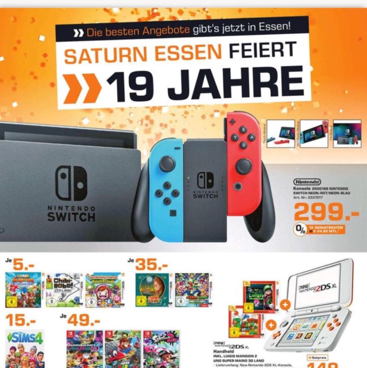 Nintendo Switch - Saturn Essen