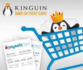 [Kinguin] 6% auf jeden Einkauf (ohne MBW) bei Zahlung mit PaySafeCard und Angabe des Gutscheins