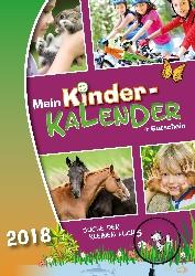 """Verschiedene kostenlose Kalender 2018, zum Beispiel """"Mein Kinder-Kalender"""""""