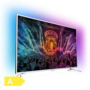 Philips 55PUS6501 TV (55'' UHD Direct-lit HDR, dreiseitiges Ambilight, 1800Hz [100Hz nativ], 4x HDMI, 3x USB, VESA) für 666€ [Ebay]