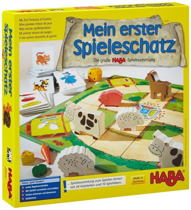 [Hugendubel] Mein erster Spieleschatz - Die große HABA-Spielesammlung