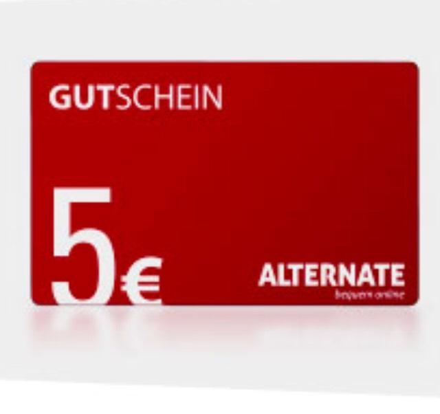 5€ Alternate Gutschein für Newsletter Registrierung (50€ MBW)