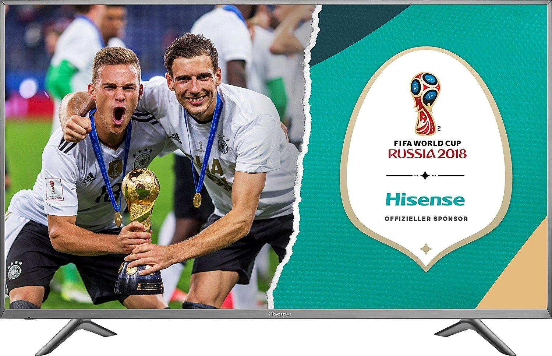 Hisense H65NEC5655 für 1149,99€,Hisense H60NEC5605 für 899,99€ oder Hisense H55NEC5605 für 639,99€- 2017er UHD TVs mit HDR10 und HLG, VIDAA U Smart TV