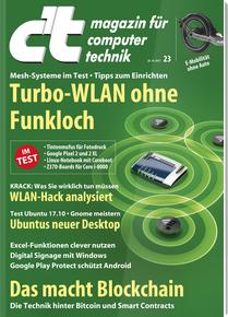 [Heise] C't Computermagazin (4 Ausgaben Print oder digital) für 13€ mit z.B. 10€ Amazon-Gutschein
