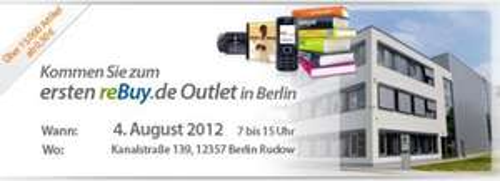 [Lokal Berlin] Rebuy.de Outlet - über 15.000 Artikel ab 0,50 € (B-Ware)