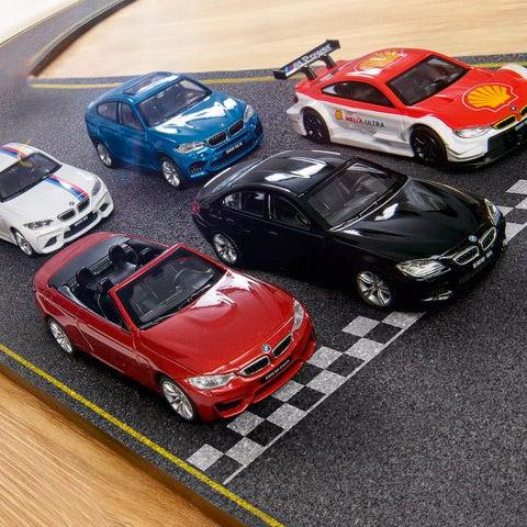 Shell Sammelaktion für BMW M Modellautos - 30/60 Liter tanken, 2 € zuzahlen