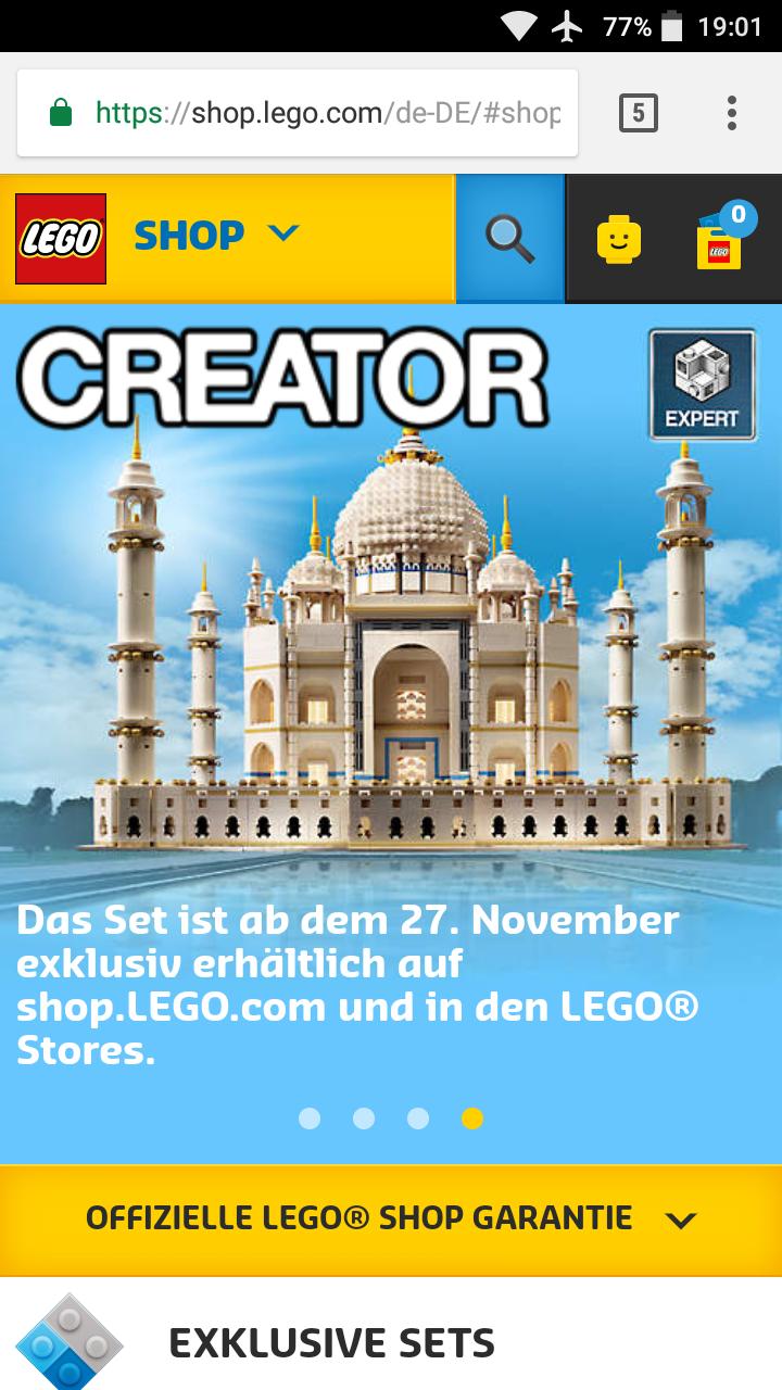 Lego Creator Expert Taj-Mahal (10256) Lego Store
