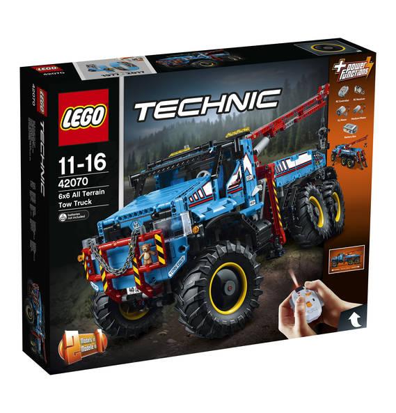 LEGO TECHNIC ABSCHLEPPWAGEN 42070 GALERIA mit 15%PAYBACK GS