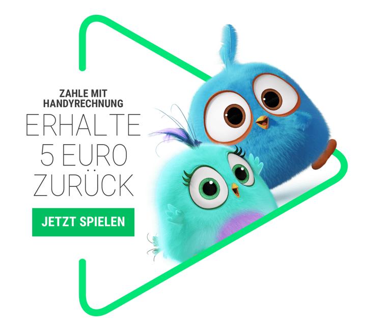 [Google Play] Bis zu 5 Euro zurück bei Zahlung per Handyrechnung