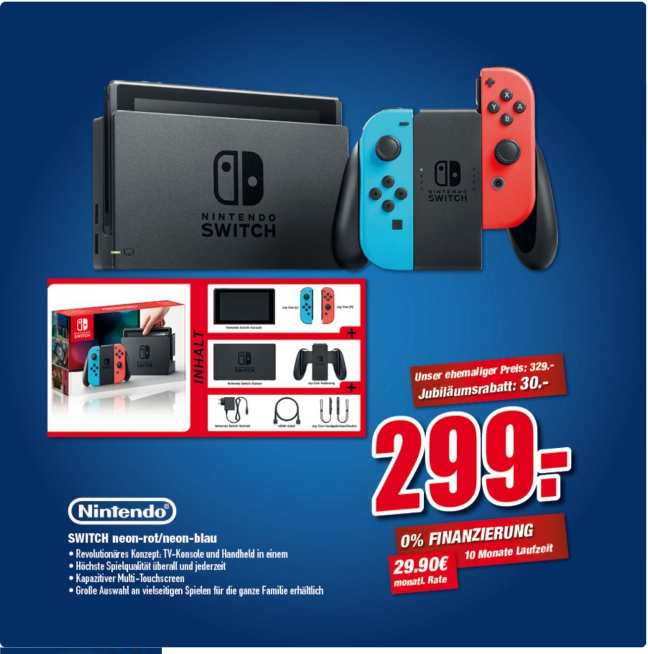 [LOKAL] Nintendo Switch Konsole Neon-Rot/Neon-Blau bei Flösch