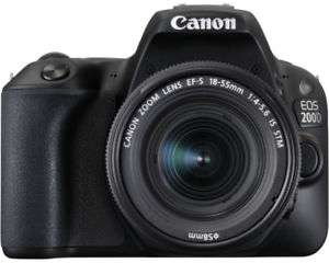 Canon EOS 200D mit IS STM Objektiv 18-55mm - abzgl. 50€ Cashback