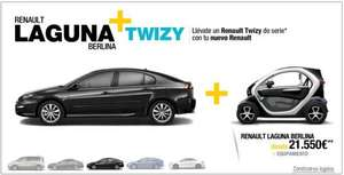 Spanien - Beim Kauf eines Renault Laguna/Espace/Lattitude einen Twizy gratis